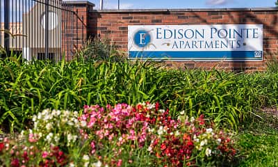 Community Signage, Edison Pointe Apartments, 2