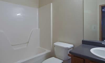 Bathroom, Pomeroy Place Apartments, 2