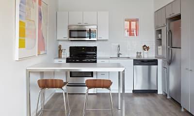 Kitchen, Interstate Flats, 0