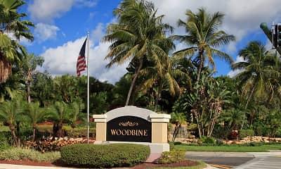 Community Signage, Woodbine Apartments, 0