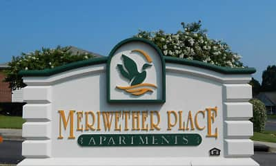 Community Signage, Meriwether Place Apartments, 2
