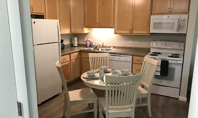 Kitchen, Sunrise Valley Apartments, 0