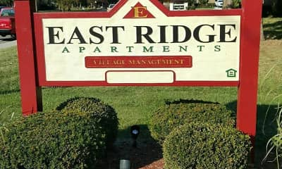 Community Signage, East Ridge Apartments - IN, 0