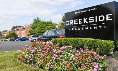 Community Signage, Creekside, 2