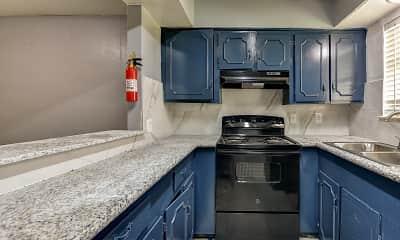 Kitchen, Glen Willow Apartments, 1