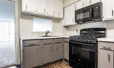 Kitchen, The Township at St. Charles Apartments, 1