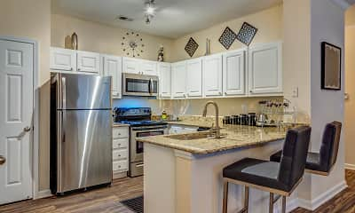 Kitchen, Manchester Place Apartments, 1
