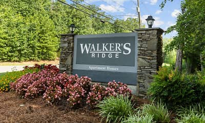 Community Signage, Walker's Ridge, 0