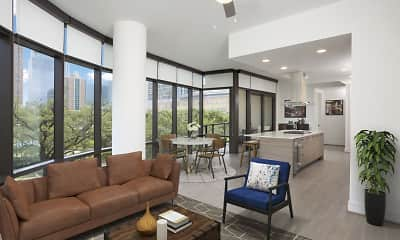 Living Room, Camden Downtown Houston, 1
