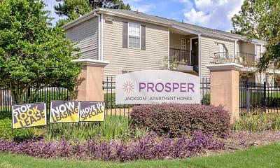 Community Signage, PROSPER Jackson, 2
