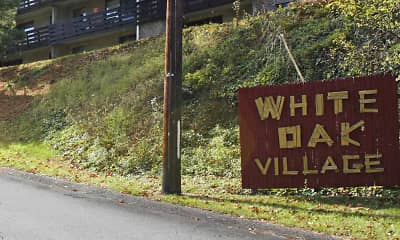 Community Signage, White Oak Village, 1