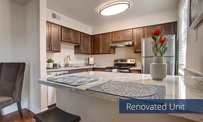 Kitchen, Indigo Apartment Homes, 0