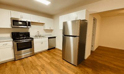Kitchen, Central Flats, 0