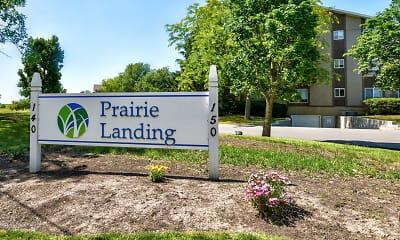 Community Signage, Prairie Landing Apartments, 2