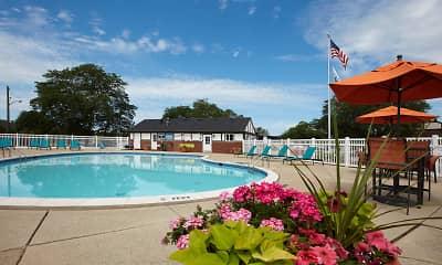 Pool, Maple Grove Apartments, 2