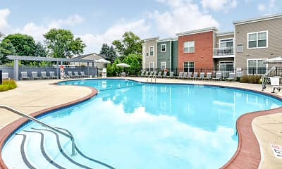 Pool, Dwell Luxury Apartments, 1