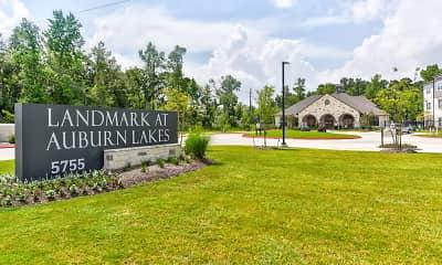 Community Signage, Landmark at Auburn Lakes, 2
