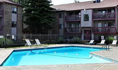 Pool, Briarwood Village Apartments, 1
