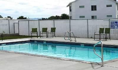 Pool, Eastgate Apartments, 1