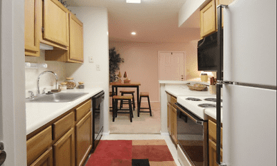 Kitchen, Edgewood Apartments, 1