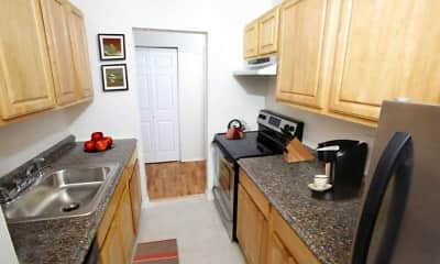 Kitchen, Seacrest Apartments, 1
