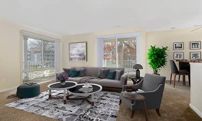 Living Room, The Verona at Landover Hills, 0