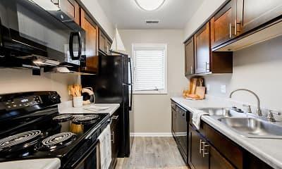 Kitchen, Northlake Village Apartments, 0