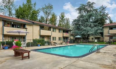 Pool, Laurelwood Estates, 1
