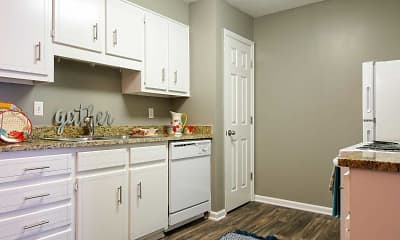 Kitchen, The Reserve at Whiskey Creek, 1