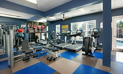 Fitness Weight Room, Bexley At Davidson, 1
