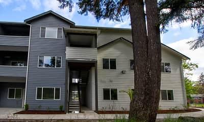 Building, Whitney Lane Apartments, 0