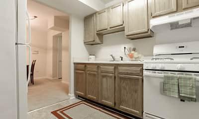 Kitchen, Parkway Apartments, 0