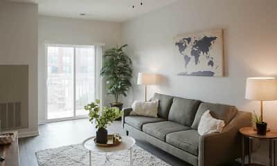 Living Room, Nichol Flats, 0