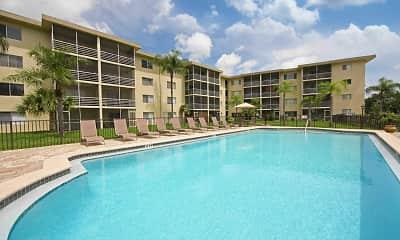 Pool, Palm Ridge Apartments, 1