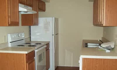 Kitchen, El Cid Apartments, 2