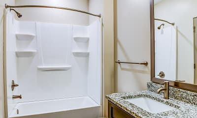 Bathroom, Lofts at Navicent, 2