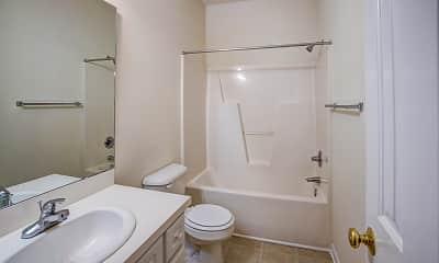 Bathroom, Hunter's Park Apartments, 2