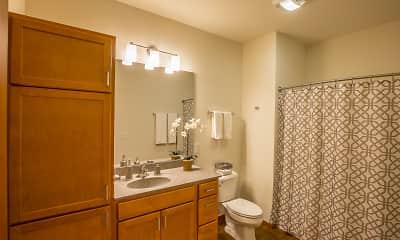 Bathroom, Veritas Village, 2