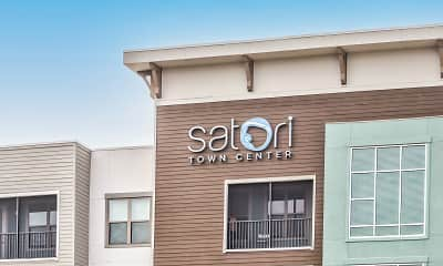 Community Signage, Satori Town Center, 2