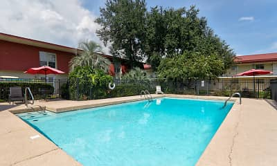 Pool, Chateau Tourraine, 0