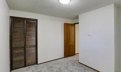 Bedroom, Arrowsmith Apartments, 2