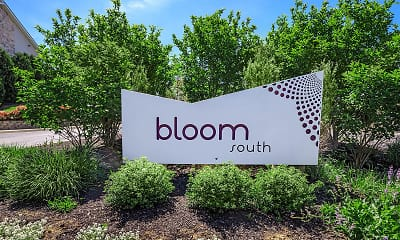 Community Signage, Bloom Apartments, 1