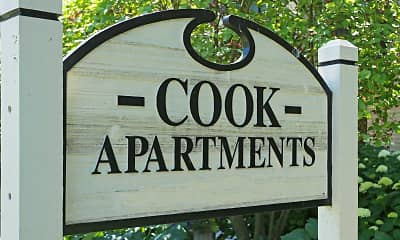 Community Signage, Cook Apartments at Libertyville, 2
