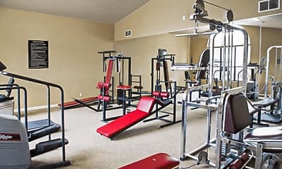 Fitness Weight Room, Barrett Creek, 2