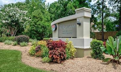 Community Signage, Ridgewood Apartments, 0