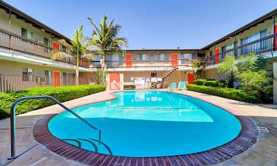 Pool, Towne Center Apartments, 0