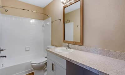 Bathroom, Landmark at Grayson Park Apartment Homes, 2