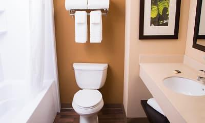 Bathroom, Furnished Studio - Austin - Northwest - Research Park, 1