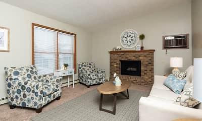 Living Room, Creekstone Falls, 0