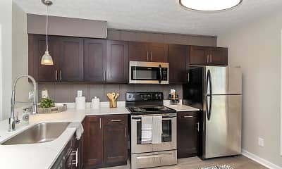 Kitchen, The Residences on 56th, 1
